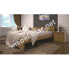 Двуспальная, односпальная деревянная кровать Изабелла 3
