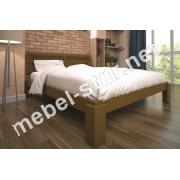 Двуспальная, односпальная деревянная кровать Мальвина 2