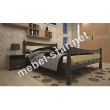 Двуспальная, односпальная деревянная кровать Модерн 4