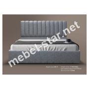Односпальная, двуспальная кровать МК-11