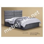 Односпальная, двуспальная кровать МК-6
