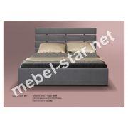 Односпальная, двуспальная кровать МК-7