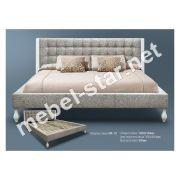 Односпальная, двуспальная кровать МК-19