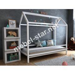 Детская кровать домик Китти