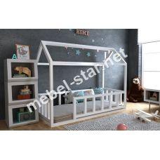 Детская кровать домик Тедди плюс