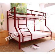 Трехместная двухъярусная кровать Тея