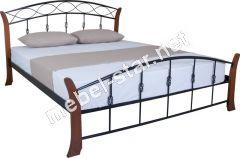Полуторная, двуспальная кровать Летиция вуд