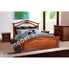 Двуспальная кровать Маргарита 2 ольха