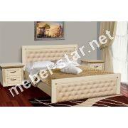 Двуспальная кровать Фридом массив дуба