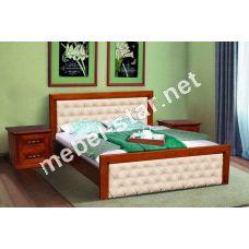 Двуспальная кровать Фридом массив ольхи