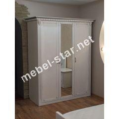 Шкаф 3-х дверный Фридом массив дуба