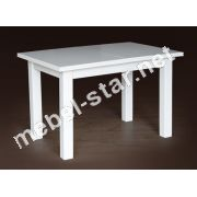 Раскладной стол Петрос белый, слоновая кость