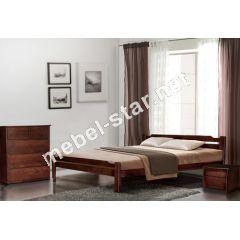 Двуспальная, полуторная кровать Ольга