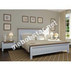 Двуспальная кровать из дерева Беатрис
