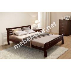 Полуторная, двуспальная кровать Ретро Микс