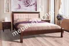 Двуспальная кровать из дерева Соната М