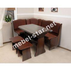 Кухонный комплект Гармония с раскладным столом