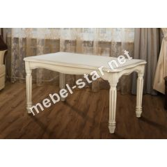 Обеденный раскладной стол Венеция беж