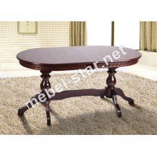 Раскладной обеденный стол из дерева Оскар Люкс
