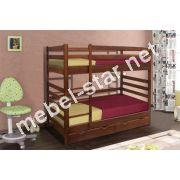 Двухъярусная кровать Засоня