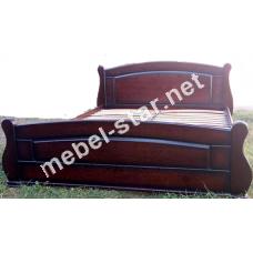 Кровать из массива дерева Гутиерра