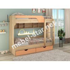 Детская двухъярусная кровать Юнга