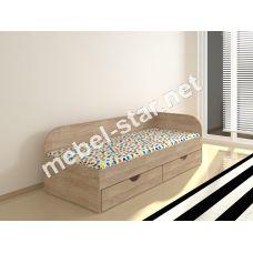 Односпальная кровать с ящиками Соня 2