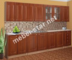 Кухня Алина длина 2,6 м МДФ