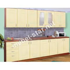 Кухня Карина длина 2,6 м МДФ