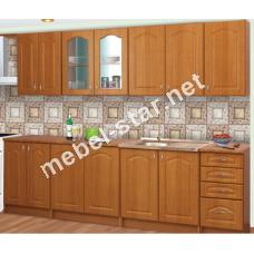 Кухня Юлия длина 2,6 м МДФ