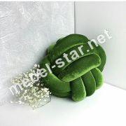 Декоративная подушка-узел ручной работы П 3