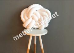 Декоративная подушка-узел ручной работы П 2