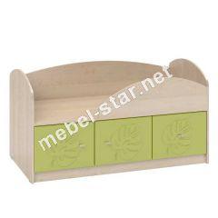 Односпальная кровать с ящиками МДМ - 1
