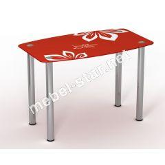 Стеклянный стол Фламенко