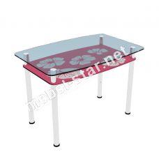Стеклянный стол Лето