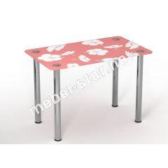 Стеклянный стол Нежность
