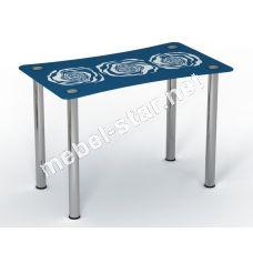 Стеклянный стол Океан