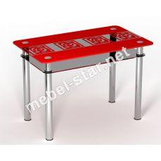 Стеклянный стол Улитки