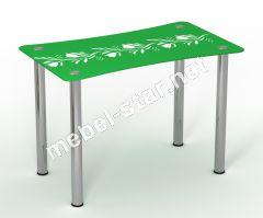 Стеклянный стол Вьюн