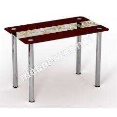 Стеклянный стол Китайский шелк