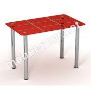 Стеклянный стол Ред Таун