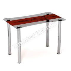 Стеклянный стол Самурай