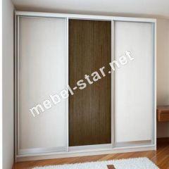 шкаф купе стандарт трехдверный  2600х2400х450/600мм