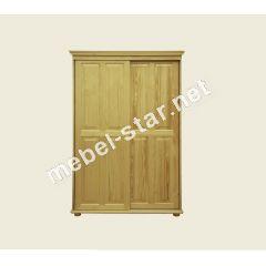 Деревянный шкаф купе ШФ 7
