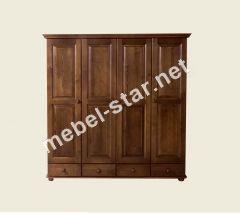 Деревянный шкаф  ШФ 12