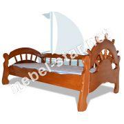 детская и подростковая  кровать из дерева Бриз