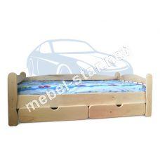 Детская подростковая  кровать из дерева ясень Соня
