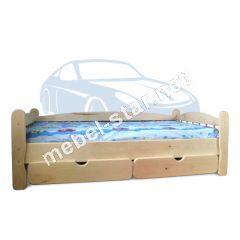 Детская подростковая кровать Соня ясень