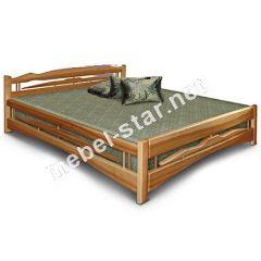 Двуспальная кровать из дерева  Дрим массив ясеня