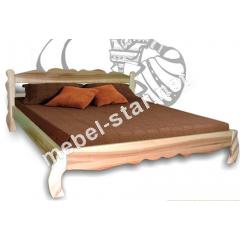 Двуспальная кровать Олеся массив ясеня